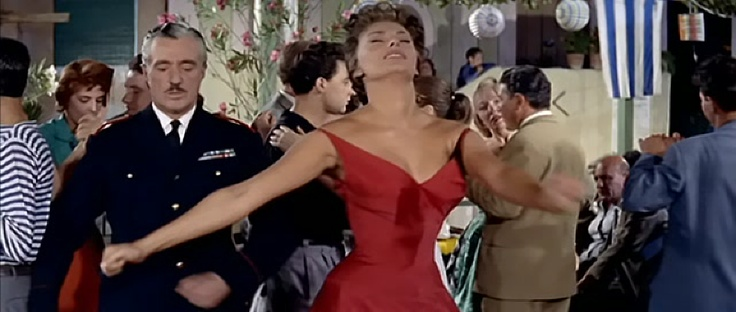 "Sofia Loren and Vittorio De Sica (""Pane, Amore e ..."")"