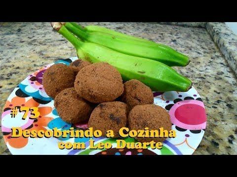 TRUFAS DE BIOMASSA, saudável e revolucionária! [ Descobrindo a Cozinha #73 ] - YouTube