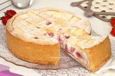 strawberry tart with ricotta and mascarpone