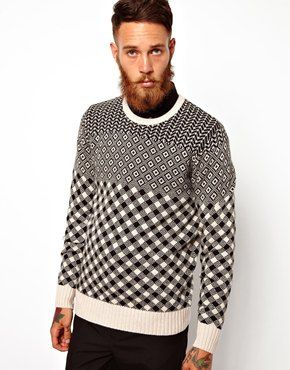 PS+by+Paul+Smith+Jumper+with+All+Over+Pattern