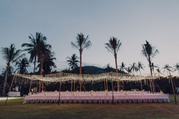 Tropical Destination Wedding, Koh Samui, Thailand