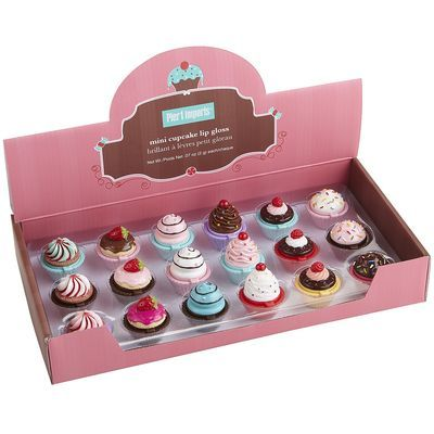 Cute cupcakes for bears and dolls. Mini Cupcake Lip Gloss
