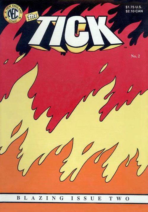 The rare non-die cut error version of Tick #2.  Click the pic and find out more....