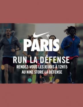 Run La Défense   Defacto - Quartier d'affaires de la Defense