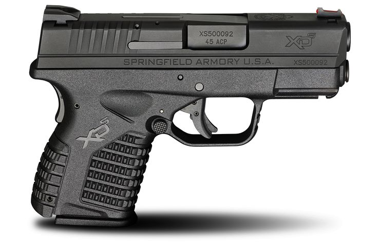 """Springfield Armory® has many top-of-the-line polymer pistols for sale, including the XD-S 3.3"""" .45ACP handgun. Visit our website for specifications and more."""