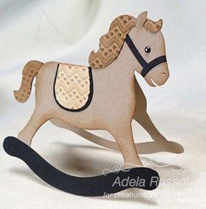 ROCKIN' HORSE CARD
