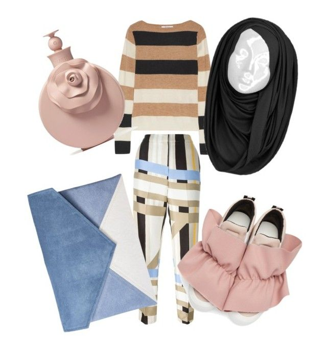 """""""Love MSGM Shoes!"""" by nabillasyarah on Polyvore featuring MSGM, MaxMara and Valentino"""