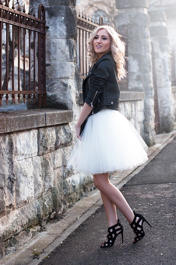 What could be more eye-catching than a tulle skirt?! Probably nothing.