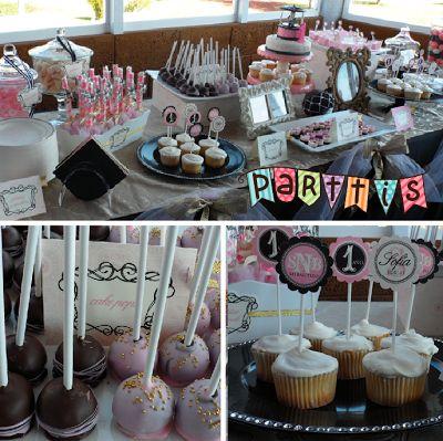 PARTTIS: Diseña tú misma tu mesa de dulces, postres y botanas