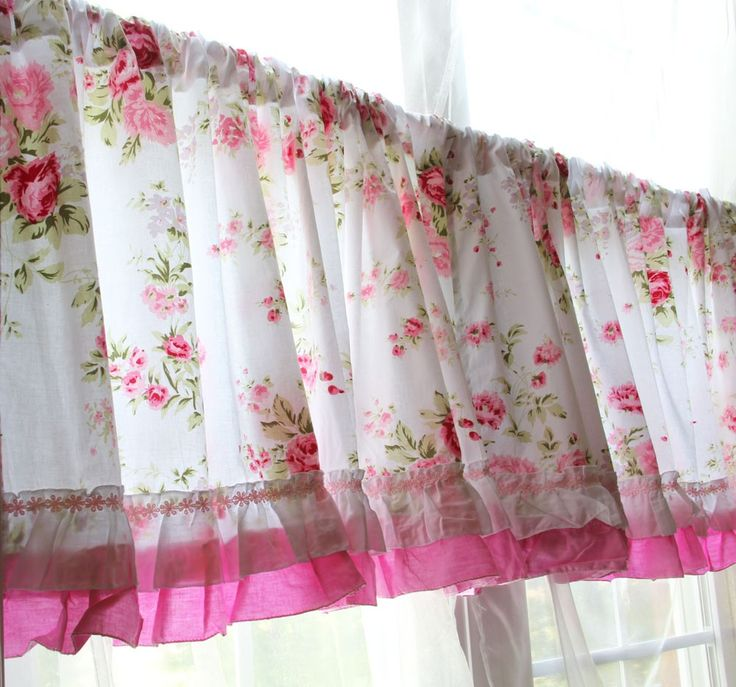 22 best images about shabby chic curtains on pinterest Shabby chic curtain window