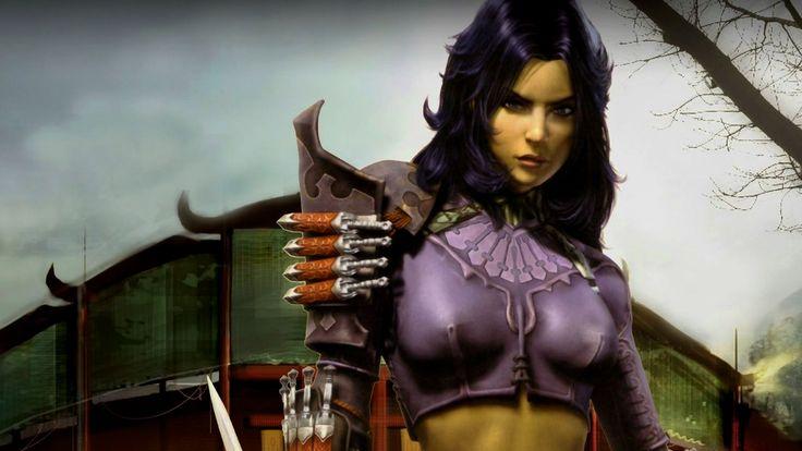 Female Fantasy Warriors
