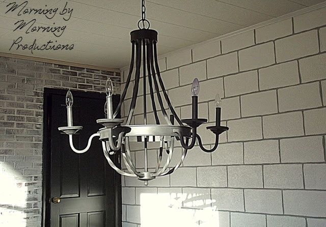 Painting Cinder Block Walls Painted Cinder Block Wall With Grey Grout Office Cinderblocks Kitchen Livi Painting Walls Tips Wall Paint Designs Cool Walls