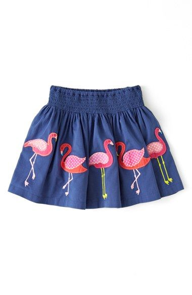 Mini Boden Fun Appliqué Skirt (Toddler Girls) | Nordstrom