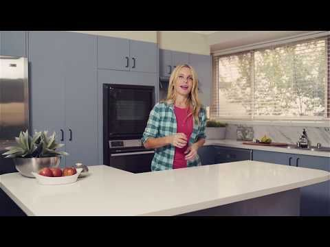 Cherie Barber x White Knight Kitchen Reno - YouTube