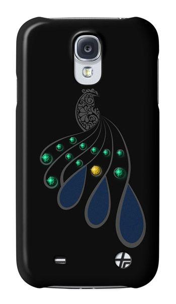 Swarovski Peacock For Samsung Galaxy S4