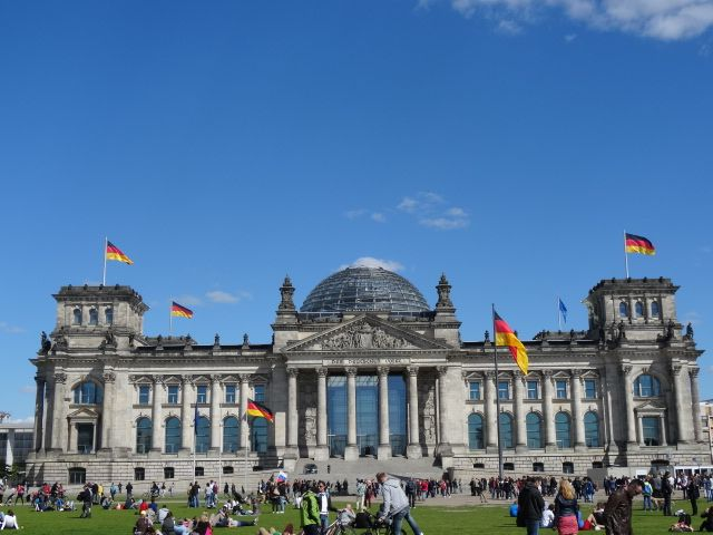 Kaefer Restaurant im Reichstag - great place to eat, wonderful view about Berlin, breakfast, lunch, coffee, dinner