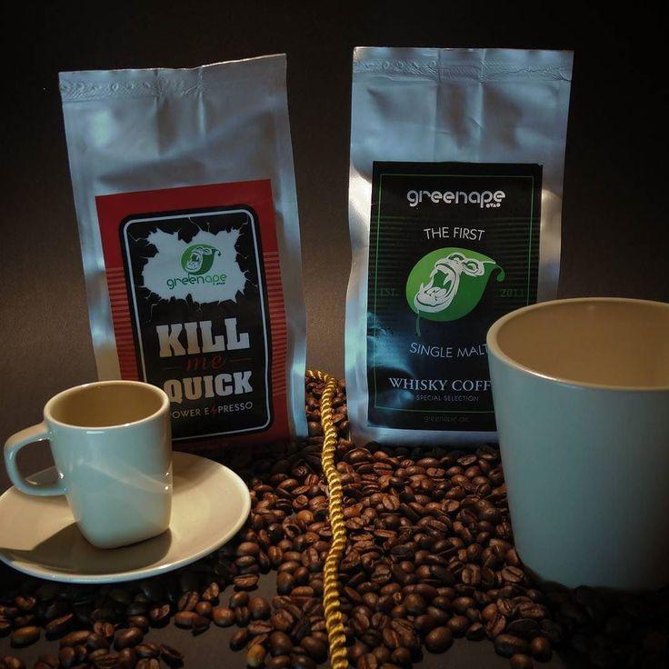Qual der Wahl ... Espresso oder Milchkaffee oder puren schwarzen Kaffee? #alex #entscheidung #wahl #kaffee #espresso #koffein #kick #schwarz #milch #greenape #makesyourlifebetter #nord #niedersachsen