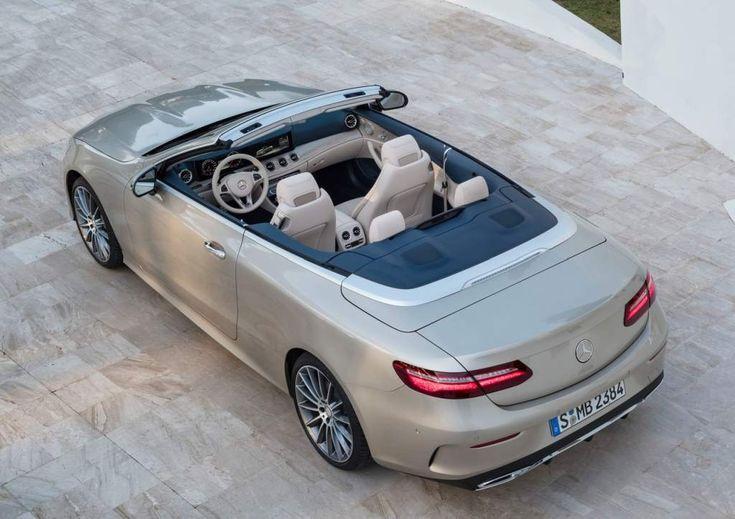 Mercedes Classe E Cabriolet chega no Brasil por R$ 414 mil