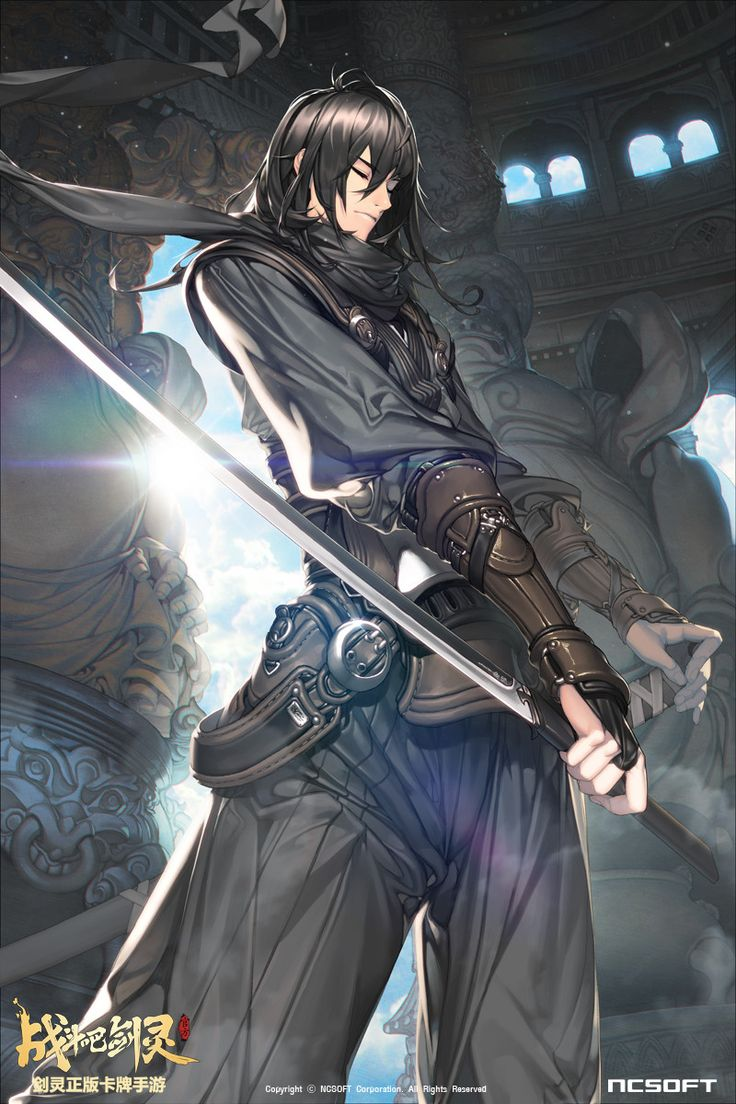 ArtStation Blade & Soul Mobile TCG ILLUST, HICHI / An