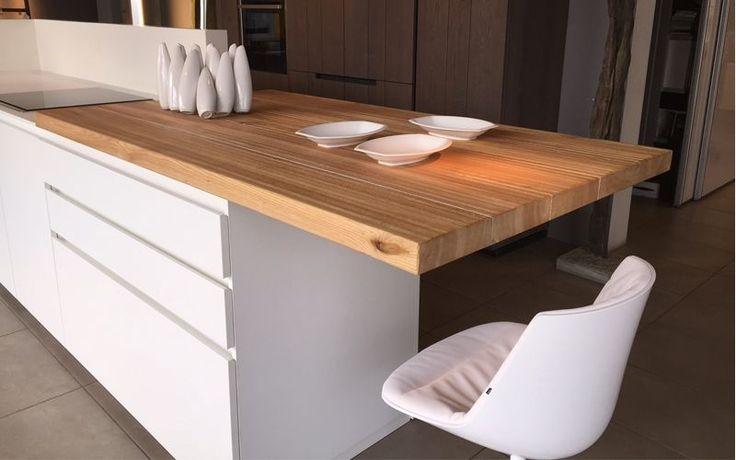 Oltre 25 fantastiche idee su bancone in legno su pinterest for Piano cucina legno