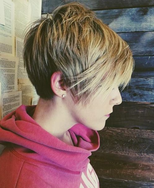 Short Haircuts with Side Swept Bangs | Full Dose