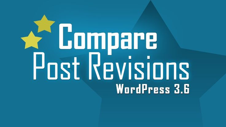 """Checkout new """"Post Revisions"""" feature in #WordPress 3.6 release"""