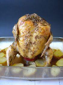 Una manera muy divertida y deliciosa de cocinar un pollo al horno. Con pocos ingredientes y algo de tiempo, obtendréis un rico almuerzo para...