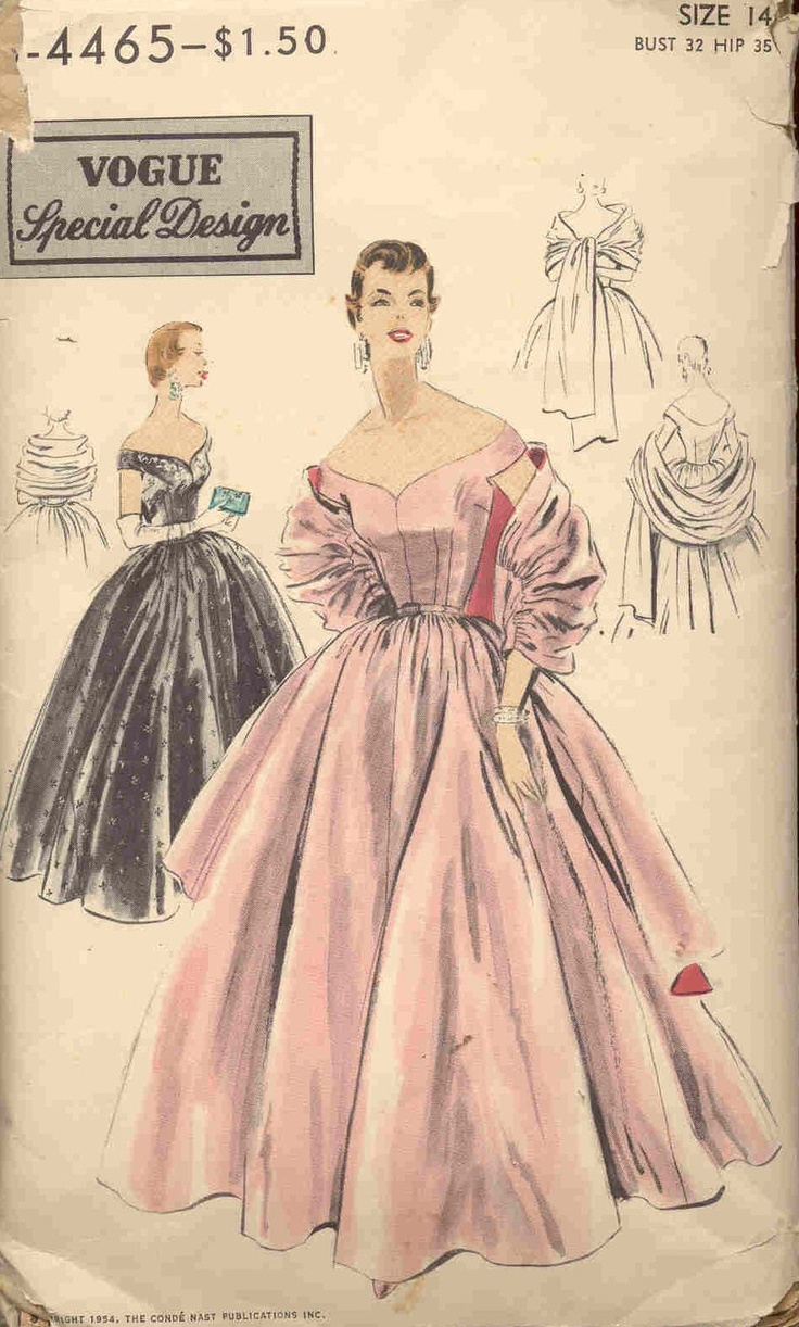 1000 Images About 1950s Vintage Retro Dress Sewing