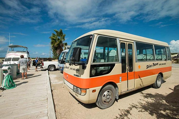 free hotel to dive dock transfers in air-conditioned bus