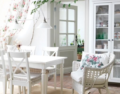Comedor ikea vintage sillas pinterest muebles de - Sillas de mimbre ikea ...