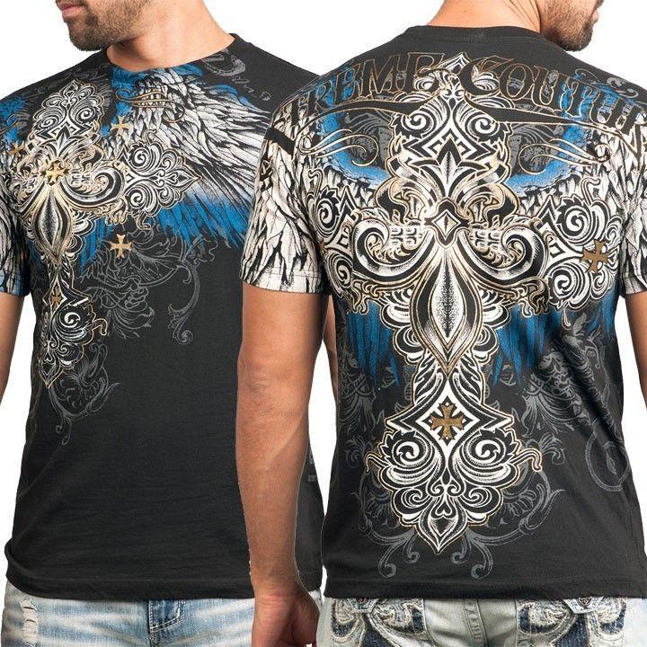 Xtreme Couture Affliction Hombre Camiseta alférez Cruz Tatuaje Biker Gimnasio Mma Ufc $40 | Ropa, calzado y accesorios, Ropa para hombre, Camisetas | eBay!