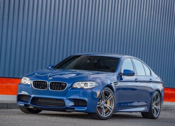 2014 BMW M5 Blue 600x431 2014 BMW M5 Review and Design Detail with Images