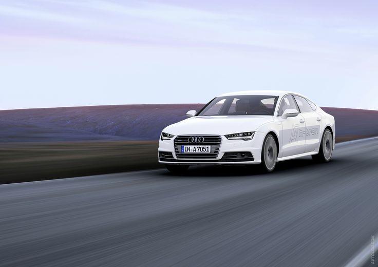 2014 Audi A7 Sportback h-tron Quattro Concept  #Segment_S #Audi #German_brands #2014MY #FCV #Serial #Los_Angeles_Auto_Show_2014 #Audi_A7