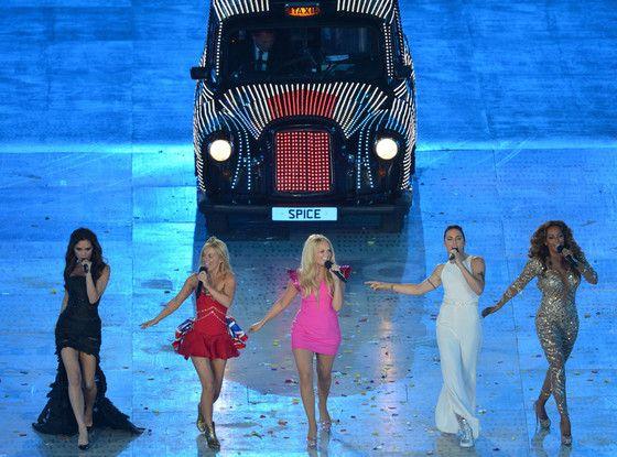 2012 London Olympic Games Closing Ceremony. Spice Girls - love em!!