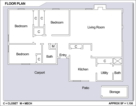 26 best NS Rota Spain images – Army Base Housing Floor Plans