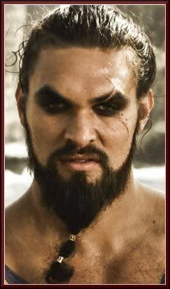 Khal Drogo  Status: Deceased Daenerys smothered her husband after a spell to save his life left him mindless and soulless.  Titles: Khal (The Khal is the warlord leader of a band of nomadic Dothraki people.)  Spouse: Daenerys Targaryen  Origin: Essos Beyond the plains of the Free Cities  Only Dothraki Permanent City: Vaes Dothrak A city without walls ruled by the widows of fallen Khals.  Portrayed by: Jason Momoa