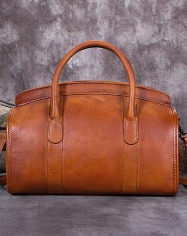 e97e65073c1c Genuine Leather Handbag Briefcase Bag Vintage Crossbody Bag Shoulder Bag  Purse For Women Mens