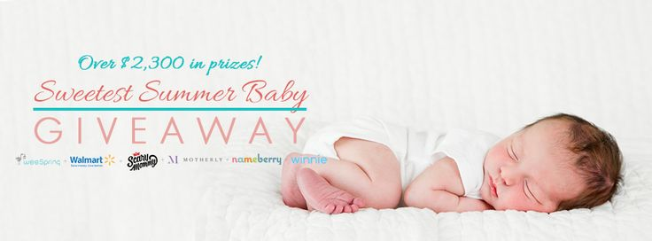 Sweetest Summer Baby Giveaway - weeSpring |