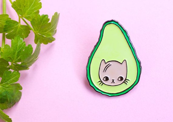 Avocatdo Soft Enamel Pin