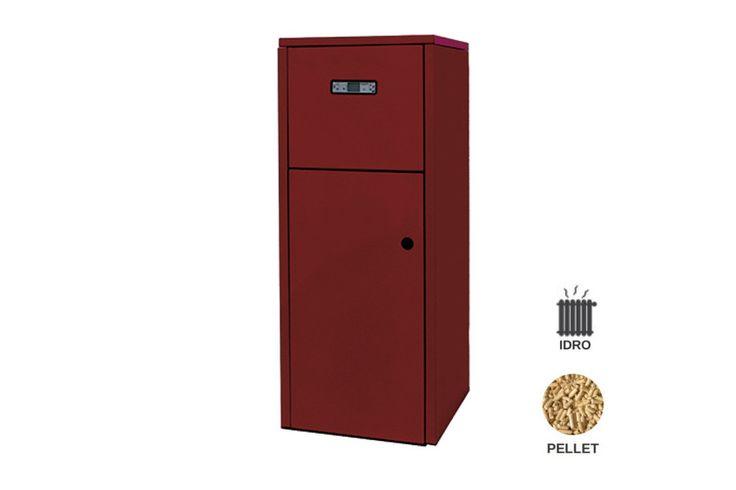 Termostufa pellet idro Progettata per essere installata in locali di servizio. Deve essere collegata OBBLIGATORIAMENTE all'impianto idraulico di riscaldamento.