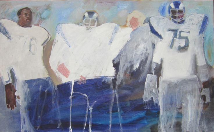 Painting by Bernie Fuchs