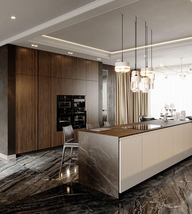 Apartment Kitchens Designs: Apartment Lux 018 On Behance