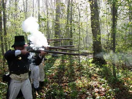 Ontario's Southwest - Backus Mill Annual War Of 1812 Re-enactment