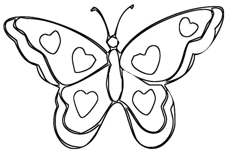 http://coloringhome.com/coloring-page/46438   Butterfly ...