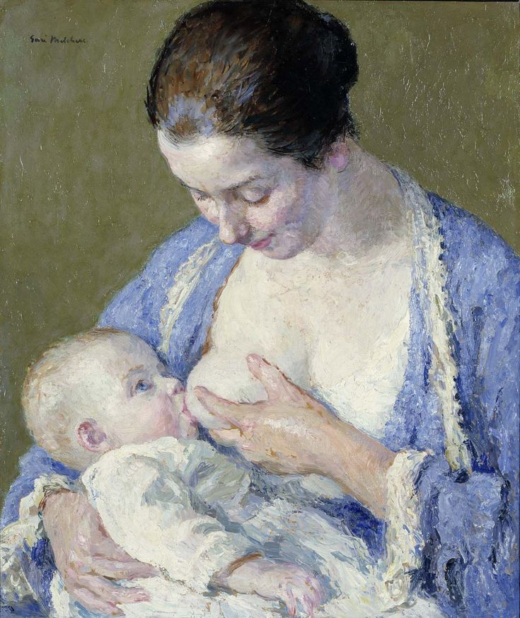 Gari Melchers, Mother and Child, c.1920 (source).