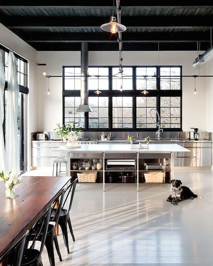 Loft Space Dining Area and Kitchen SettingBest 25  Loft kitchen ideas on Pinterest   Industrial style  . New York Loft Kitchen Design. Home Design Ideas