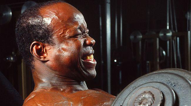 Albert Beckles: Super Peaked Biceps