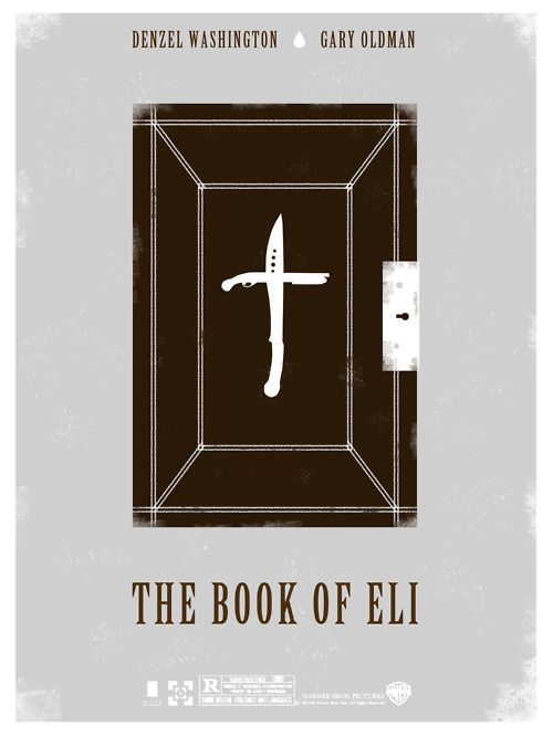 The Book of Eli was good. It's about a man who crosses the lands of a dystopic society in order to save The Bible. Other than a nauseating tint and background scenes and an out-of-place Mila Kunis (whom I cannot un-see as Jackie), it was a very good movie with a surprising ending. Recommended.