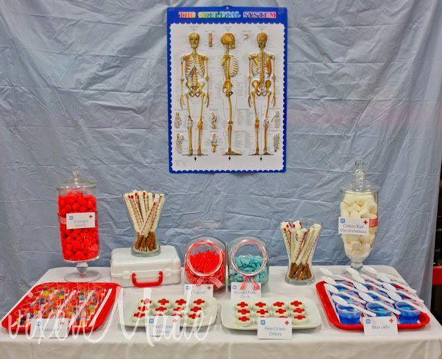 Fiesta infantil: doctores y médicos