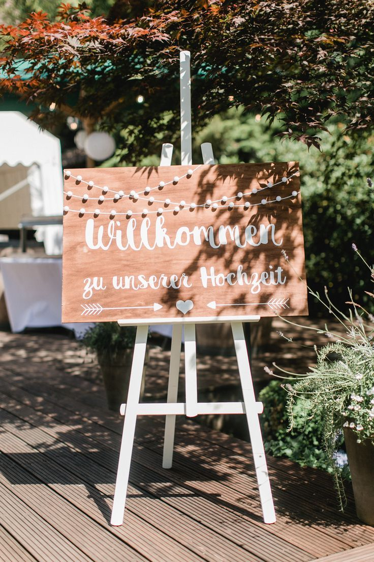 Welcome sign for the wedding – #the # for #wedding # welcome sign